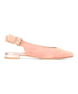 Stuart Weitzman | Heidi Ballerinas 37 Leather/Suede