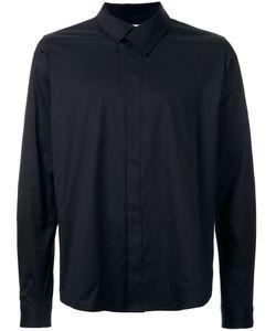 Wooyoungmi | Overlap Collar Shirt 44 Cotton/Nylon/Spandex/Elastane