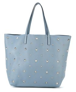 Red Valentino | Large Studded Shopper Calf Leather/Metal