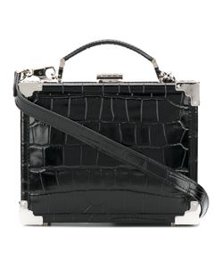 ASPINAL OF LONDON | Crocodile Effect Box Tote Women