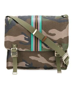 Valentino | Garavani Camouflage Messenger Bag Cotton/Leather
