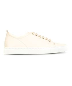 Lanvin | Tennis Sneakers 38 Leather/Rubber