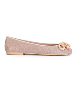 Pretty Ballerinas | Bow Detail Ballerinas 39 Rubber/Polyester