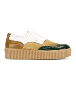 MM6 by Maison Margiela | Colour Block Brogues Women Calf