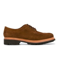 Grenson | Lace Up Derby Shoes 7 Suede/Leather/Rubber