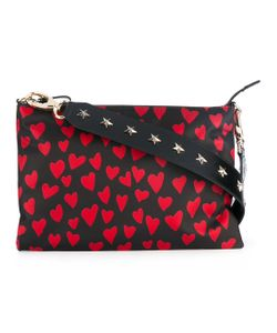 Red Valentino | Heart Print Crossbody Bag