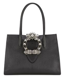 Miu Miu | Crystal Embellished Top Handle Tote