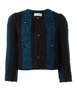 Sonia Rykiel | Short Tweed Jacket 38 Cotton/Acrylic/Polyamide/Cupro