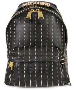 Moschino | Studded Lines Backpack Leather