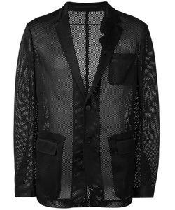 Givenchy | Mesh Effect Blazer 50 Polyamide