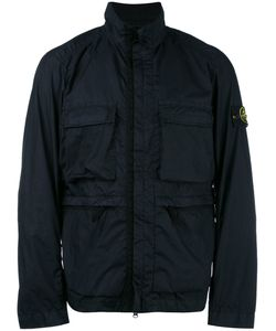 Stone Island | Roll Neck Zip Up Jacket Large