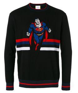 ICEBERG | Superman Intarsia Jumper L