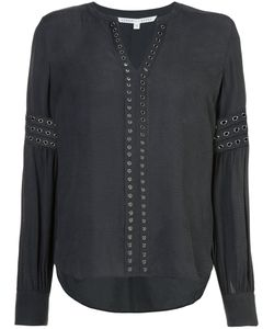 Veronica Beard | Willa Eyelet Blouse Women