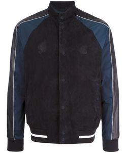 Emporio Armani | Leather Bomber Jacket Xl Goat Skin/Lamb