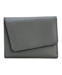 Valextra | Asymmetric Flap Wallet Calf Leather