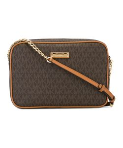 Michael Michael Kors | Logo Print Zip Top Bag