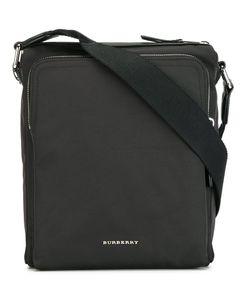 Burberry | Logo Plaque Messenger Bag Nylon/Leather