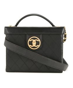 Chanel Vintage | Cc Two-Way Cosmetic Bag