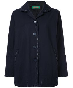CASEY CASEY   Loose Fit Jacket With Contrast Stitching Women