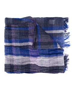 Y'S | Fringed Check Scarf Women One