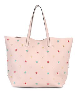 Red Valentino | Star Stud Shopper Tote Calf Leather