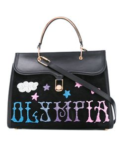 Olympia Le-Tan | Griffin Embr Marguerite Tote Bag