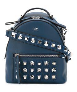 Fendi | Stud Embellished Shoulder Bag Leather/Metal