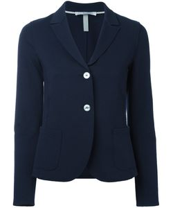 Harris Wharf London | Contrast Button Blazer Size 46