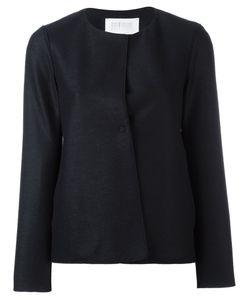 Harris Wharf London | Collarless Jacket 40 Wool