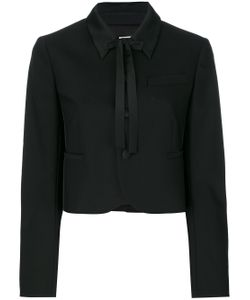Red Valentino | Укороченная Куртка С Классическим Воротником