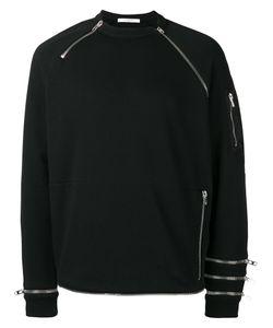 Givenchy   Zip Panel Sweatshirt Xl Cotton/Polyamide
