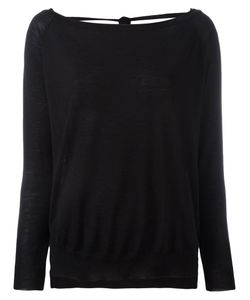 P.A.R.O.S.H. | Open-Back Sweater Xs Cashmere