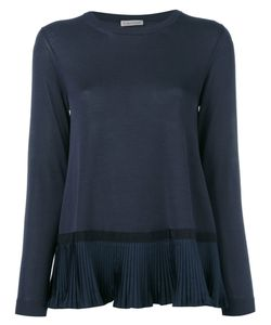 Moncler | Pleated Hem Top Size Small
