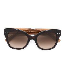 Bottega Veneta Eyewear | Солнцезащитные Очки Дизайна Колор-Блок