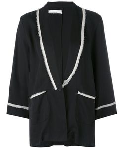 NOSTRASANTISSIMA | Raw Trim Pajama Jacket