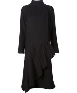 AUDRA | Асимметричное Пальто С Оборкам На Подоле