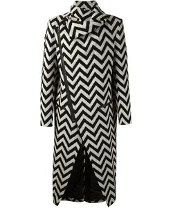 MADS DINESEN | Chevron Effect Coat