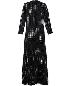 MADS DINESEN | Длинное Прозрачное Платье В Сетку