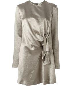 Isa Arfen | Платье-Шифт С Узлом Спереди