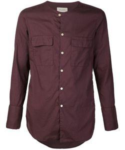 BED J.W. FORD | Рубашка Без Воротника С Накладными Карманами