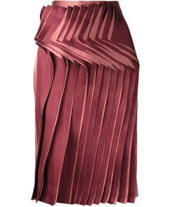 AUDRA | Юбка С Плиссированной Панелью Спереди