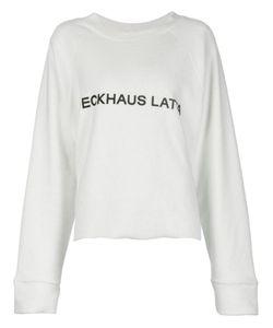 ECKHAUS LATTA | Logo Print Sweatshirt