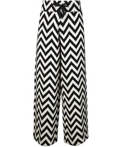 MADS DINESEN | Chevron Effect Trousers
