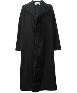 Comme Des Garcons | Пальто С Меховой Отделкой