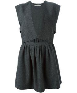 Comme Des Garcons   Платье C V-Образным Вырезом