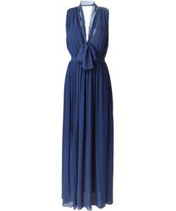 MSGM | Вечернее Платье C V-Образным Вырезом