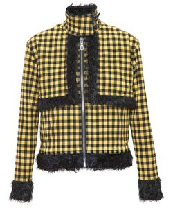 ADAM SELMAN | Gingham Jacket