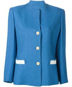 Hermès Vintage | Пиджак На Пуговицах С Контрастными Карманами