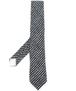 Hermès Vintage | Галстук С Ромбовидным Узором