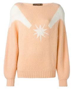 THIERRY MUGLER VINTAGE | Star Motif Sweater